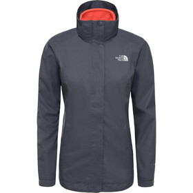 The North Face Evolve II Veste Triclimate Femme, vanadis grey/radiant orange